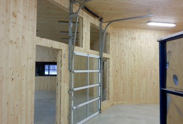 Porte de garage commerciale