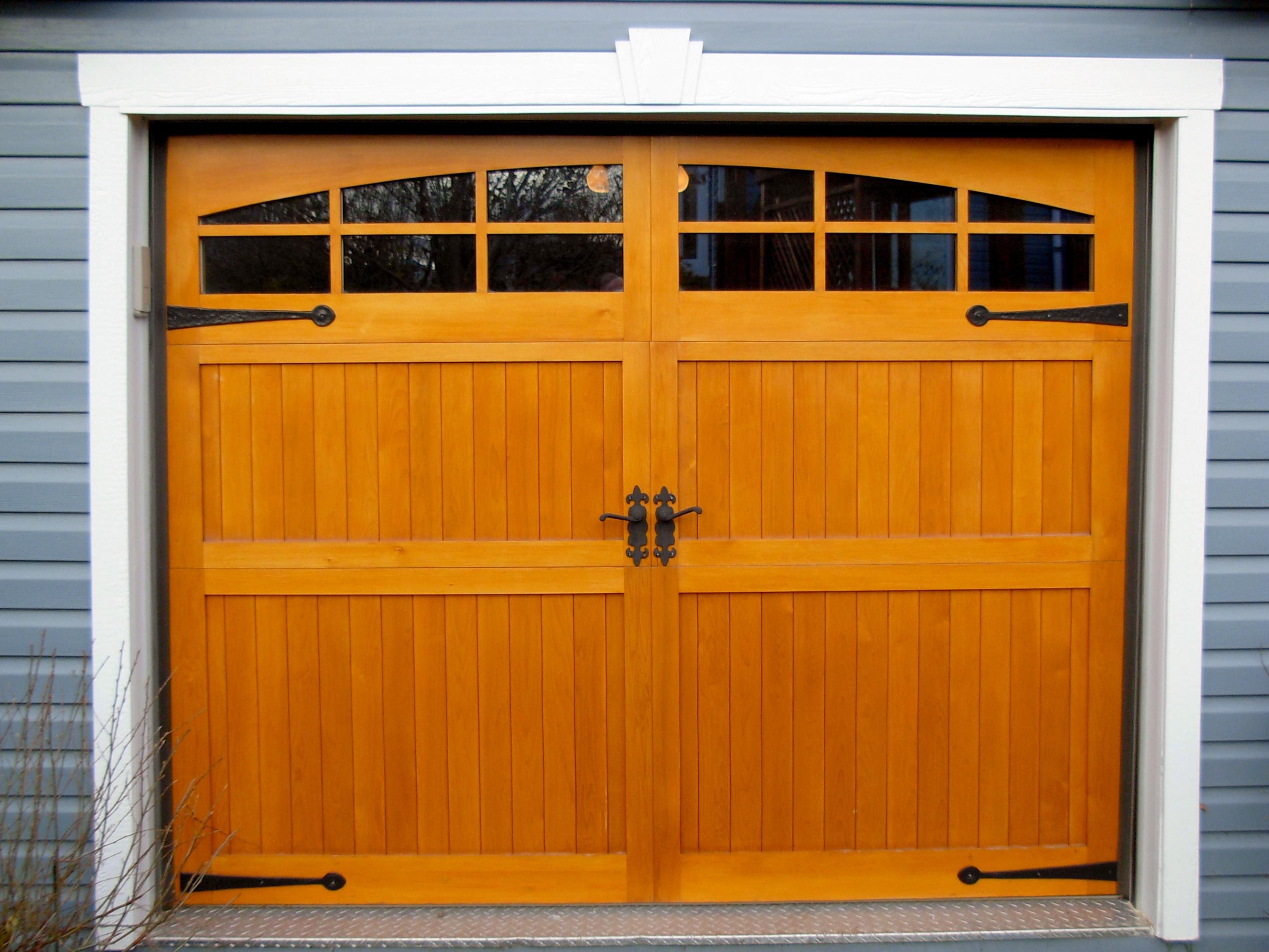Porte de garage résidentielle