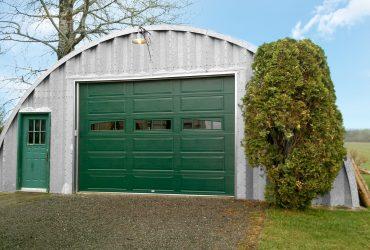 Porte de garage agricole